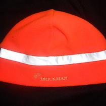 Carhartt Orange Fleece Beanie Winter Hat Cap Reflective Headwear Level2 Brickman Photo