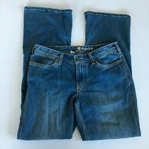 Carhartt Original Fit Jasper Jean Womens Original Fit Size 8 Blue Stretch  Photo
