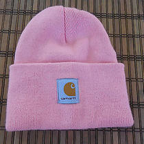 Carhartt Pink Beanie Hat Womens Adult Cap Photo