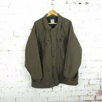 Carhartt Quilt Lined Polyester Long Rancher Barn Chore Coat Jacket Sz Xxl Tall Photo