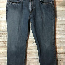 Carhartt Relaxed Straight Blue Jeans Mens Sz 34x32 Photo