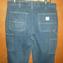 Carhartt Rugged Flex Relaxed Fit Double Front Work Jeans Sz 38 X 34 Photo