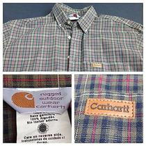 Carhartt Rugged Outdoor Wear Gear Long Sleeve Shirt Photo