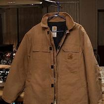 Carhartt Sandstone Medium Men's Arctic Quilt-Lined Coat - Like New  Photo