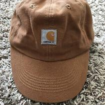 Carhartt Toddler Baby Canvas Brown Hat Cap Strapback Adjustable Hunting Working Photo