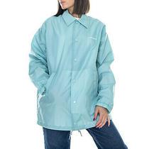 Carhartt W Script Coach - Soft Aloe / White - Jacket Light Woman Green Photo