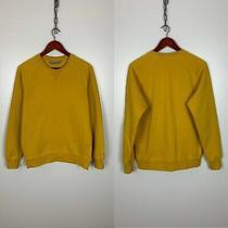 Carhartt Wip Chase Yellow Sweatshirt Size S Photo
