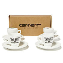 Carhartt Wip Espresso Cup Set of Four White Photo