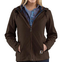 Carhartt Women's Bainbridge Hooded Soft Shell Jacket - Water Resist. - Small - Photo