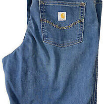 Carhartt Women's Relaxed Fit Blue Jeans Size 10 Reg Nice Office-Cl12 Photo