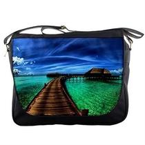 Caribbean Fantasy Home in Water Messenger Bag Photo