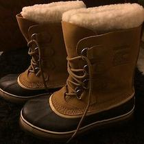 Caribou Sorel Waterproof Snow Boots Photo