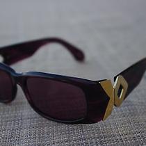 Carmen Marc Valvo Hepburn Sunglasses Violet Photo