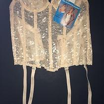 Carnival Blush Wedding Longline Underwire Corset Style 313 Size 32b Nwt Photo