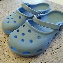 Carolina Blue Crocs Photo