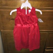 Carter's 12 Month Dressy Red Dress Photo