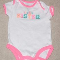 Carter's 3 Month Little Sister Bodysuit Must See Adorable Photo