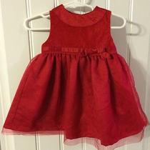 Carter's 9 Month Red Dress - Perfect for Christmas Photo