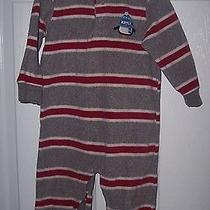 Carter's   Baby Boy One Piece Size 18mos Gray and Red Photo