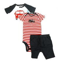 Carter's Baby Boys 3pc Set Size 24months Color White/red  - New Photo