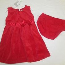 Carter's Baby Girl Red Dress 18 Months  Photo
