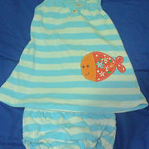 Carter's Baby Girls Dress Set 2 Piece Size 3m Photo