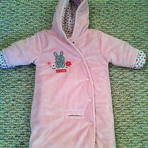Carter's Child of Mine Soft/cushy Pink Blush Car Seat Bunting Size 3/6 Mos Euc Photo