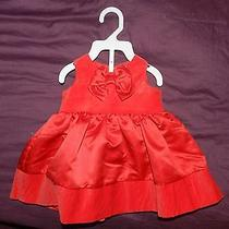 Carter's Cotton Baby Red Dress - 3 Months Photo