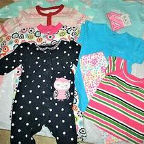 Carter'scrazy 8baby Gap Lot of 8 Multi-Colors/printsrompersoutfits 3-6m Photo