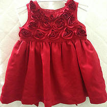 Carter's Fashion Baby Girl Red Dress Photo