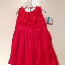 Carter's Girls Red Dress With Diaper Cover Brand New 24 Months Photo