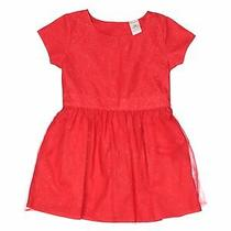 Carter's Girls Red Special Occasion Dress 2t Photo
