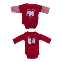 Carter's Holiday Bodysuit Set Size Nb Photo