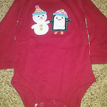 Carter's Holiday Bodysuit Size 18 Months  Photo