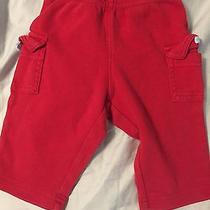 Carter's Infant 3 Month Cotton Pants - Red Photo