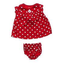 Carter's Polka Dot Dress Size 6 Mo Photo
