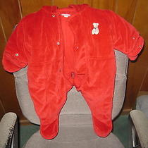Carter's  -      Red     Snowsuit    Photo