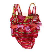 Carter's Tulip Swimsuit Size 12 Mo Photo