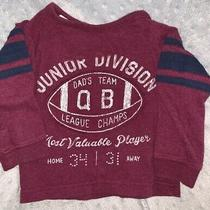 Carters 12 Months Baby Boy Long Sleeve Tshirt Football Mvp Dads Team Junior  Photo