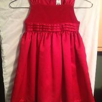 Carters 4t Red Velvet Dress Photo