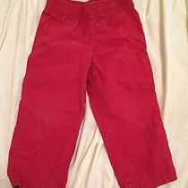 Carters Baby Boy Red Pants Photo