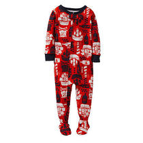 Carters Baby Boys Footed Sleeper Red/navt Pirate ships12m.nwt Photo