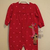 Carters- Baby Girl Holiday One Piece Jumpsuit Photo