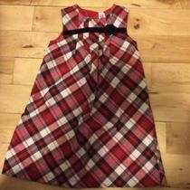 Carters Holiday Dress Size 5 Plaid Photo