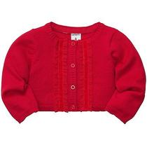 Carters Holiday Red Dressy Cardigan 24 M New Photo
