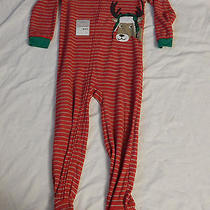 Carters Holiday/winter Footie Pajamas Size 6 Photo