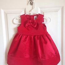 Carters Infant Girls Red Dress Sz 9m Photo