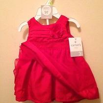 Carters Red Dress Photo