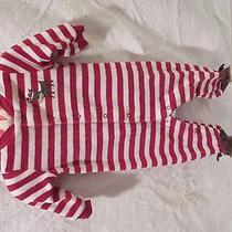 Carters Striped Holiday Sleeper 3mts Photo