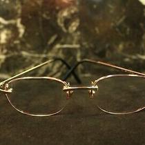 Cartier 18k White Gold Diamond Glasses W/case Photo